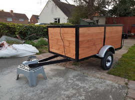 CarBox  Trailer approx 5ft x 3ft x 2ft tall