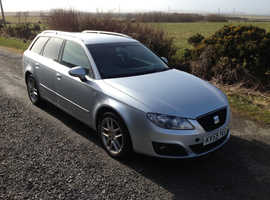 Seat Exeo, 2009 (59) Grey Estate, Manual Diesel, 117,018 miles.12 months mot fsh