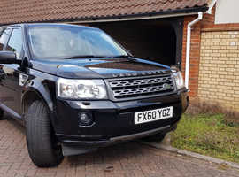 Land Rover Freelander TD4 HSE, 2010 (60) Black Estate, Manual Diesel, 94,200 miles