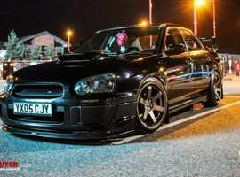 Subaru IMPREZA WRX, 360BHP, BIG SPEC, ENGINE REBUILD, 2005 (05) Black Saloon, Manual Petrol