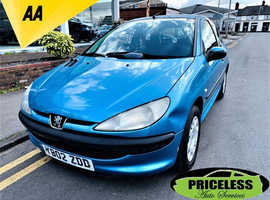 Peugeot 206, 2002 (02) Blue Hatchback, Manual Diesel, 122,222 miles