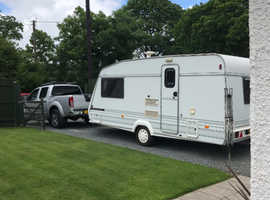 1997 2beth caravan complete with awning