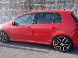 Volkswagen Golf, 2006 (06) Red Hatchback, Automatic Petrol, 137,070 miles