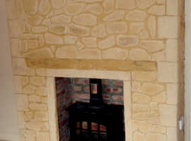 Stone Feature walls . INTERIOR or EXTERIOR