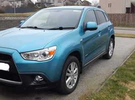 Mitsubishi Asx, 2010 (10) Blue Hatchback, Manual Diesel, 71,300 miles