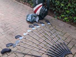 Left-handed Mizuno Golf Set