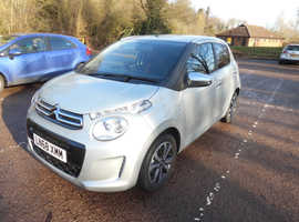 Citroen C1, 2018 (68) Grey Hatchback, Manual Petrol, 1,500 miles