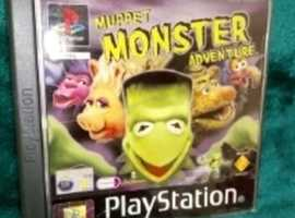 PS1 Muppet Monster Adventure Game