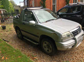 Suzuki Grand Vitara, 2004 (04) Silver Convertible, Manual Petrol, 79,950 miles