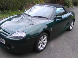 MG TF, 2003 Dark Green sports convertible , Manual Petrol, 32000 miles