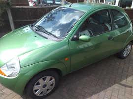 Ford Ka, 2006 (56) Green Hatchback, Manual Petrol, 075,500 miles