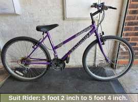 Universal Rampage Bike. 18 speed. 26 inch Wheels.