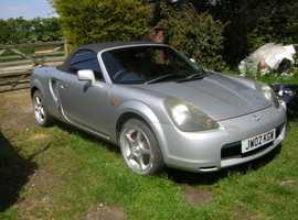 Toyota MR-2   Spyder   , 2002 (02) Silver,  Coupe, Manual,  96000 miles