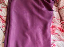 beautiful purple cutains
