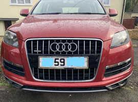 Audi Q7, 2009 (59) Maroon/Red, Automatic, Diesel, Quattro, 94.500 miles