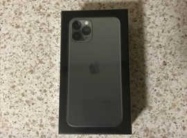Brand New Sealed Apple iPhone 11 Pro - 64GB - MidnightGreen (Vodafone)
