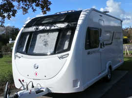 Adapted caravan 2018 Sprite Alpine 4