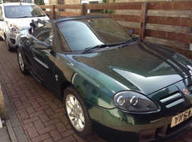 MGTF 2004 (54) Green Sports, Manual Petrol, 58,934miles