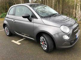 Fiat 500, 2011 (11) Grey Hatchback, Manual Petrol, 60,000 miles