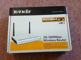 Boxed, Tenda 3G622R+, 3G 300 Mbps Wireless Router, Twin Antenna, 802.11 b,g,n