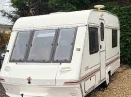 Abi touring caravan 2 berth 1995/96 model