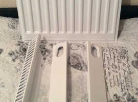 White 300x400 single radiator