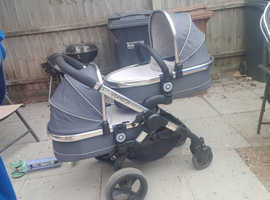 Icandy Peach 2 Full Double Travel System