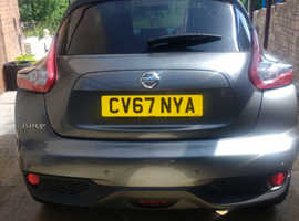 Nissan Juke, 2017 (67) Grey Hatchback, Manual Diesel, 9,400 miles