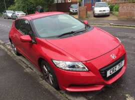 Honda CR-Z, 2010 (10) Red Hatchback, Manual , 46,000 miles 6 speed gearbox 3 driving modes