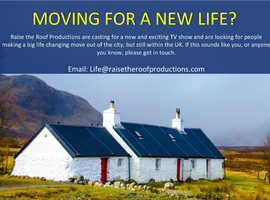 Brand new and exciting TV series seeking contributors moving large distances.