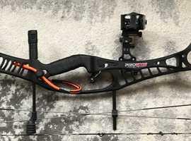 Archery - RH Compound - Hoyt Pro Edge Elite - FULL SET