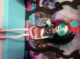Monster High Doll #2B Skelita Calvaeras