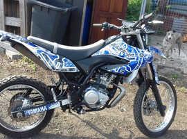 Yamaha wr125r 2014
