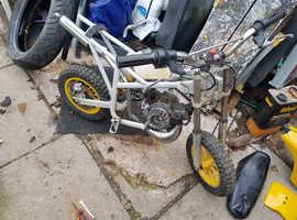 mini dirt bike project or parts