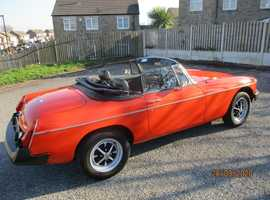 1979 MGB ROADSTER 37K MILES ,SOLID & STUNNING