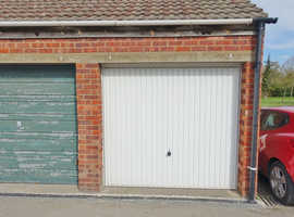 Single, dry, well maintained garage with up and over door