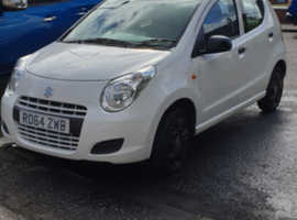Suzuki Alto, 2014 (64) White Hatchback, Manual Petrol, 29,000 miles