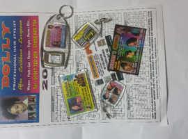 printing. .key fobs. .fridge magnets etc..