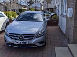 Mercedes A-CLASS, 2013 (13) Silver Hatchback, Manual Petrol, 28,834 miles