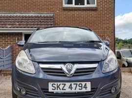 Vauxhall Corsa, 2007 (56) Blue Hatchback, Manual Petrol, 87,000 miles