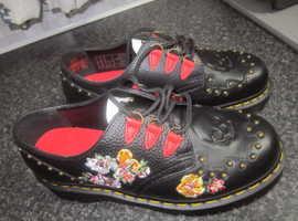 Dr. Marten shoes size 6.