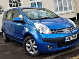 Nissan Note Automatic SE 1.6 Petrol 5dr *1 Year Warranty* Low Mileage 77k