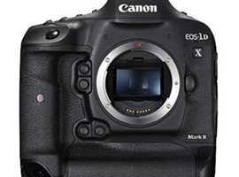 Canon EOS-1D X Mark II DSLR Camera Body, Black
