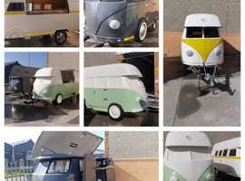 Classic VW Kombi Vintage Replica Utility Trailer