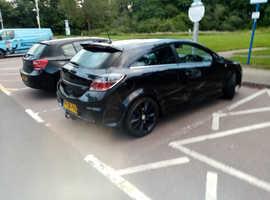 Vauxhall Astra, 2006 (06) Black Hatchback, Manual Petrol, 143,000 miles