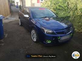 Vauxhall Vectra, 2005 (55) Blue Hatchback, Manual Diesel, 185,000 miles