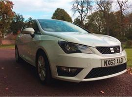 Seat Ibiza, 2013 (63) White Hatchback, Manual Petrol, 27,505 miles