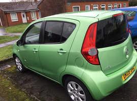 Vauxhall Agila, 2009 (09) Green Hatchback, Automatic Petrol, 70,560 miles