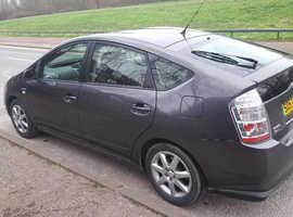 Toyota Prius, 2008 (57) grey hatchback, Cvt Hybrid, 80900 miles