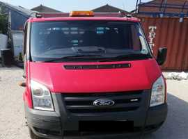 Ford Transit Dropside Van with Tail lift LWB